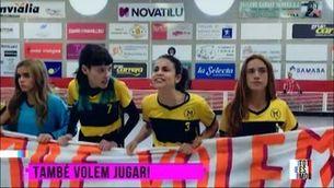 El vídeo viral de l'hoquei #TambéVolemJugar