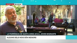 La parròquia de Sant Anna acull joves migrants