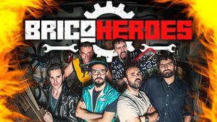 """La portada del tema del grup osonenc amb els """"Bricoheroes"""""""