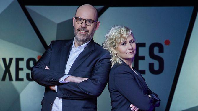"""Mònica Terribas i Jordi Basté comparteixen la vida amb cent persones a """"Nexes"""""""