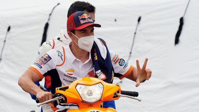 """Marc Márquez:  """"L'objectiu només és pujar a la moto i intentar disfrutar"""""""
