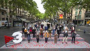 TV3 impulsa la foto de Sant Jordi, amb els autors i autores premiats aquest any