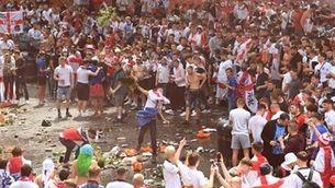 Greus incidents a Wembley abans de la final