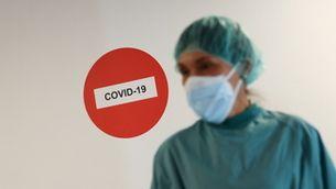 Personal sanitari de l'Hospital del Mar que lluita contra la Covid
