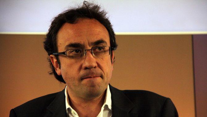 El coordinador general de CDC, Josep Rull.