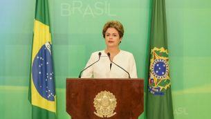 Dilma Rousseff, presidenta del Brasil