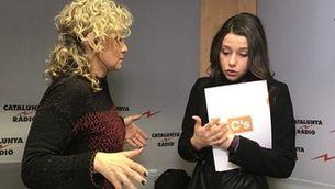 """Mònica Terribas i Inés Arrimadas a """"El matí de Catalunya Ràdio"""""""