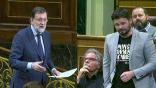 Rajoy vs Rufián