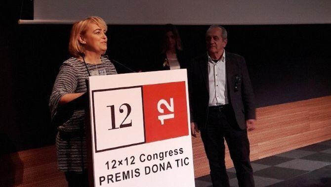 """Mariola Dinarès, del programa """"Popap"""" de Catalunya Ràdio, premi DonaTIC Divulgadora 2017"""