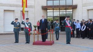 Cerimònia Patrona Guàrdia Civil  a Sant Andreu de la Barca.