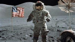 Neil Amstrong a la Lluna