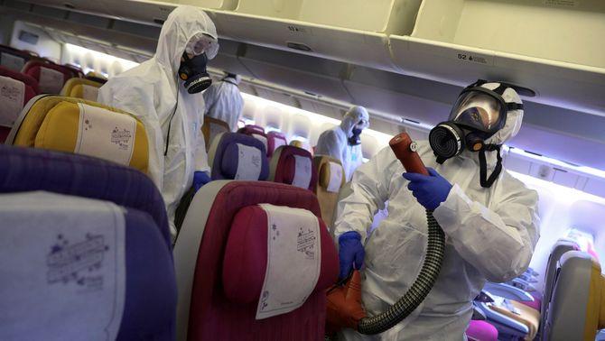 Els espanyols repatriats pel coronavirus passaran la quarantena en un hospital