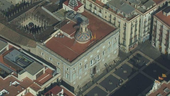 Descobreixen un refugi antiaeri oblidat de la Guerra Civil al Palau de la Generalitat