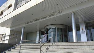 Accés a l'Hospital Verge de la Cinta de Tortosa