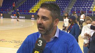 """Joan Carles Navarro: """"L'objectiu és canviar el cicle i guanyar més títols"""""""