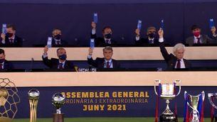 La junta de Laporta supera sense obstacles l'Assemblea de Compromissaris