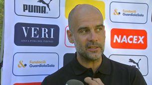 """Pep Guardiola: """"Que Tebas n'aprengui, de la Premier"""""""