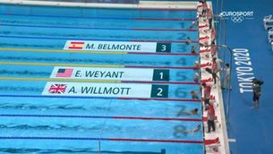 Belmonte, a la final dels 400 m estils