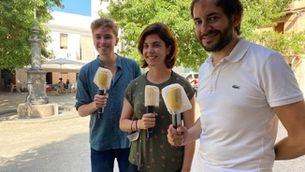 Abraham Orriols, Samanta Villar i Albert Segura