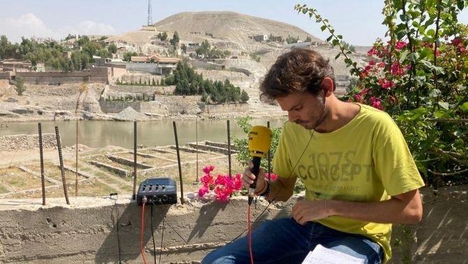 Sergi Roca a l'Afganistan