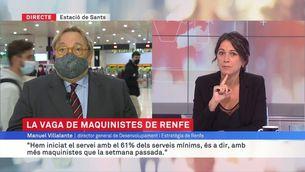"""Manel Villalante: """"El dret de vaga és legítim, però cal complir els serveis mínims"""""""