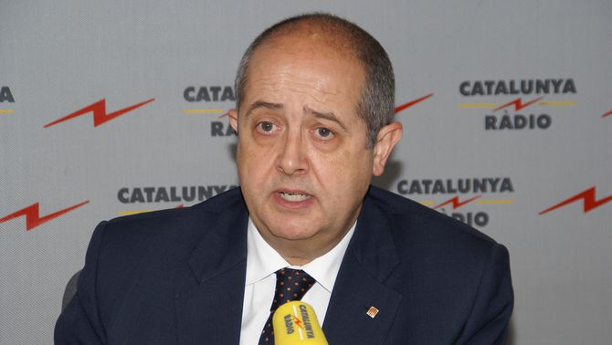El conseller de l'Interior en funcions Felip Puig