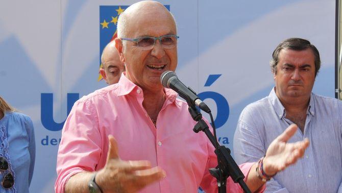 El líder d'Unió durant un míting. (Foto: ACN)