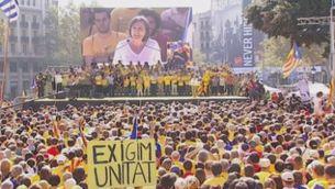 Suport condicionat al nou 9-N proposat per Artur Mas