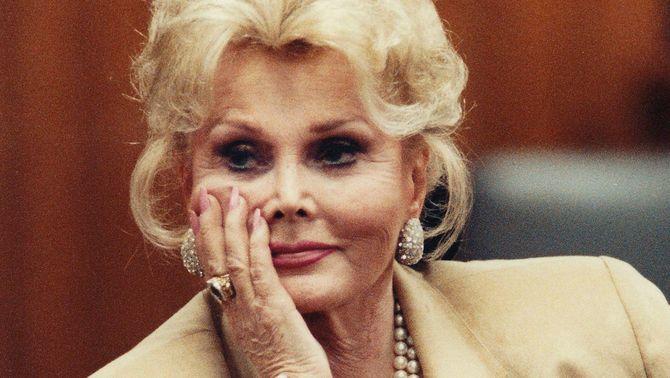 Mor l'actriu Zsa Zsa Gabor als 99 anys