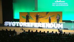 Acte de cloenda de la campanya del Pacte Nacional pel Referèndum