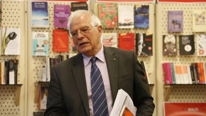 Josep Borrell accepta ser ministre d'Exteriors del govern de Pedro Sánchez