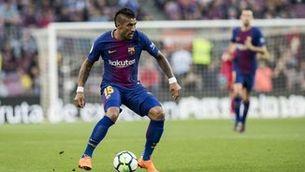Paulinho s'ofereix al Barça