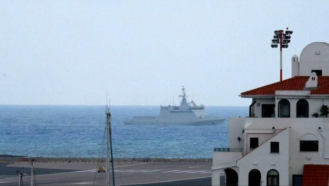 Incident a Gibraltar: una patrullera espanyola intenta fer fora vaixells anglesos