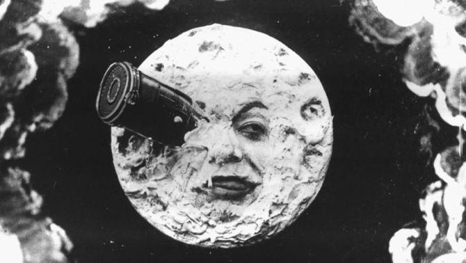 """""""Le Voyage dans la Lune"""", de Georges Méliès"""