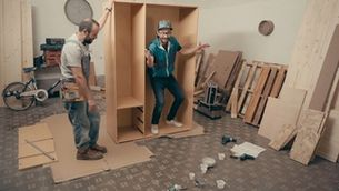 "Bricoheroes - Com muntar un ""moble kit"""