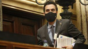 Roger Torrent, la setmana passada al Parlament