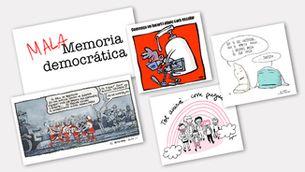 De la memòria històrica al PDeCAT: la setmana en cinc vinyetes