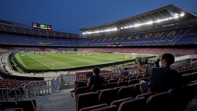 Alba Vergés descarta, de moment, públic al Camp Nou