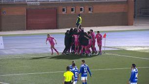 El gol de la victòria del Llagostera a la Copa Federació