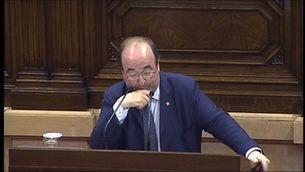 Miquel Iceta, degà de la política catalana
