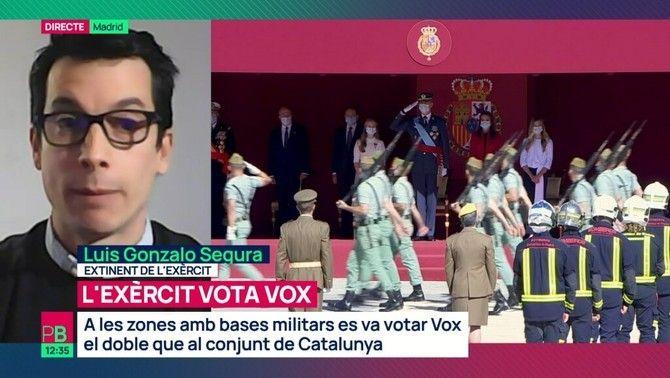 L'exèrcit vota Vox