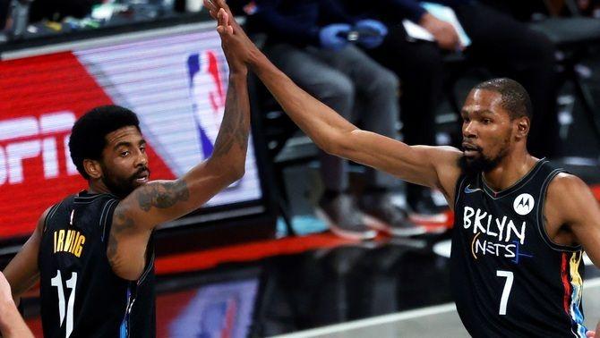 Kevin Durant reapareix amb els Brooklyn Nets