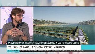 "Carles Prats: ""Una central hidroelèctrica reversible complementaria les altres energies renovables"""