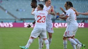 Gal·les es deixa dominar per Suïssa però acaba esgarrapant un punt (1-1)