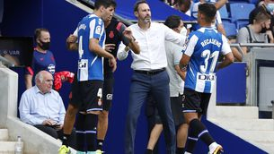 "Vicente Moreno: ""No ens hem de posar nerviosos abans de temps"""