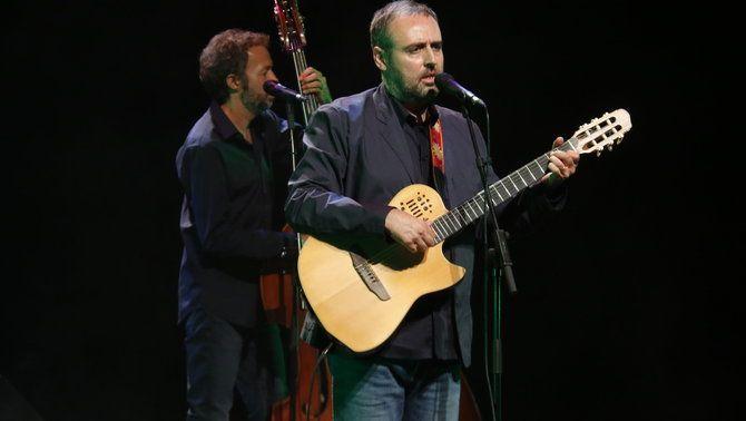 Roger Mas a l'Atlàntida de Vic en la presentació del seu nou disc aquest dijous