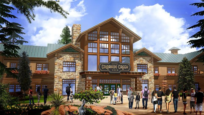 Hotel Colorado Creek a PortAventura World