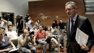 Ruiz-Gallardón, al Cercle d'Economia. (Foto: EFE)
