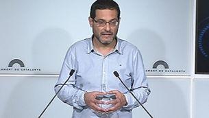 Josep Vendrell, diputat d'ICV