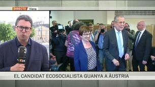 El candidat ecosocialista guanya a Àustria